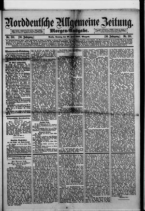 Norddeutsche allgemeine Zeitung vom 26.06.1887