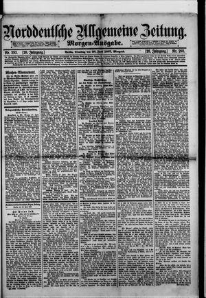 Norddeutsche allgemeine Zeitung vom 28.06.1887