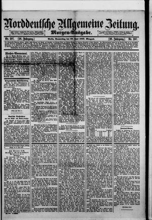 Norddeutsche allgemeine Zeitung vom 30.06.1887
