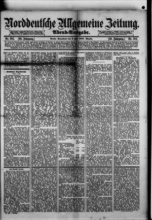 Norddeutsche allgemeine Zeitung vom 02.07.1887