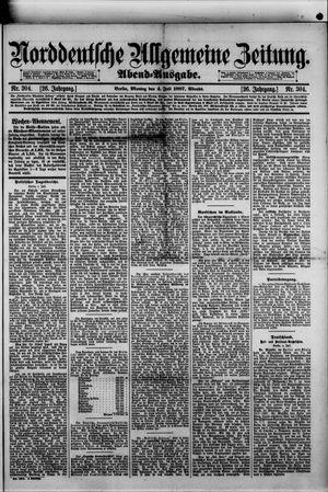 Norddeutsche allgemeine Zeitung vom 04.07.1887
