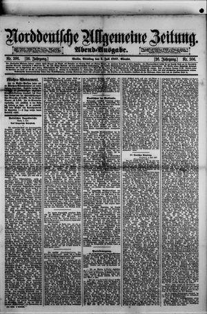 Norddeutsche allgemeine Zeitung vom 05.07.1887