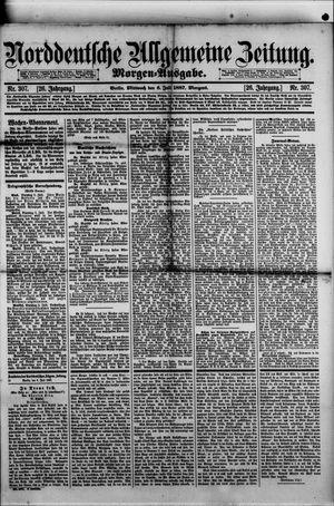Norddeutsche allgemeine Zeitung vom 06.07.1887