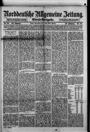 Norddeutsche allgemeine Zeitung vom 07.07.1887