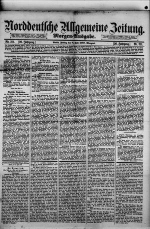 Norddeutsche allgemeine Zeitung vom 08.07.1887