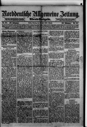 Norddeutsche allgemeine Zeitung vom 12.07.1887