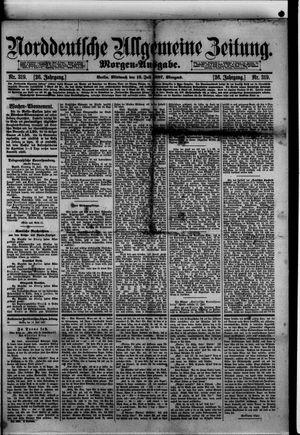 Norddeutsche allgemeine Zeitung vom 13.07.1887