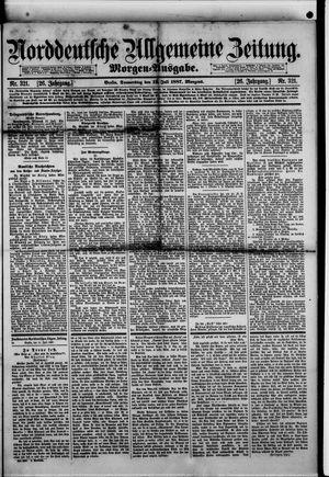 Norddeutsche allgemeine Zeitung vom 14.07.1887