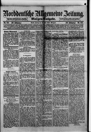 Norddeutsche allgemeine Zeitung vom 15.07.1887