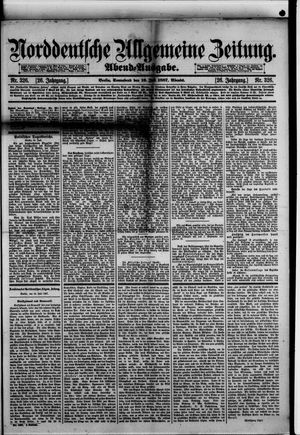 Norddeutsche allgemeine Zeitung vom 16.07.1887