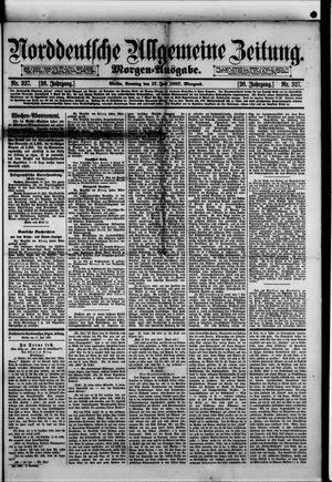 Norddeutsche allgemeine Zeitung vom 17.07.1887