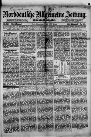 Norddeutsche allgemeine Zeitung vom 18.07.1887