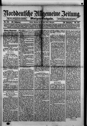 Norddeutsche allgemeine Zeitung vom 19.07.1887