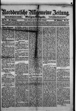 Norddeutsche allgemeine Zeitung vom 20.07.1887