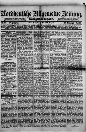 Norddeutsche allgemeine Zeitung vom 22.07.1887