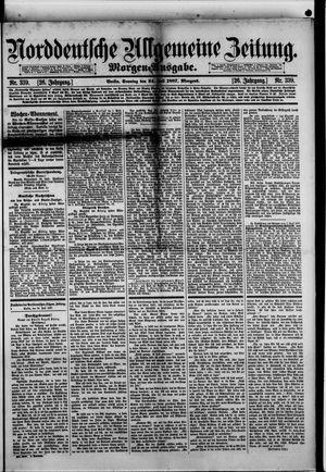 Norddeutsche allgemeine Zeitung vom 24.07.1887