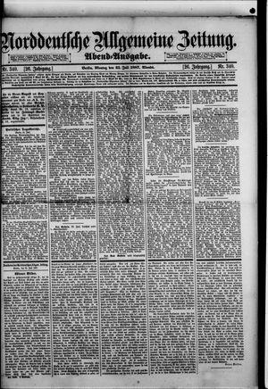 Norddeutsche allgemeine Zeitung vom 25.07.1887