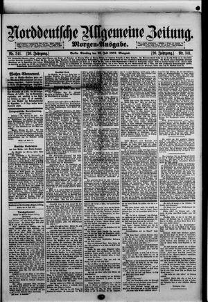 Norddeutsche allgemeine Zeitung vom 26.07.1887