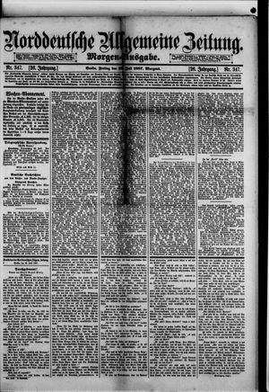 Norddeutsche allgemeine Zeitung vom 29.07.1887