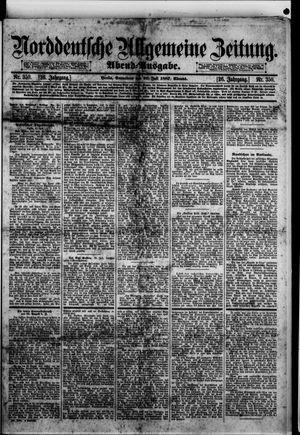 Norddeutsche allgemeine Zeitung vom 30.07.1887