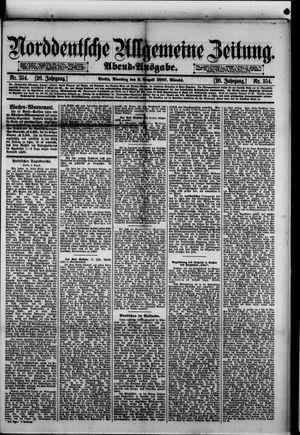 Norddeutsche allgemeine Zeitung vom 02.08.1887