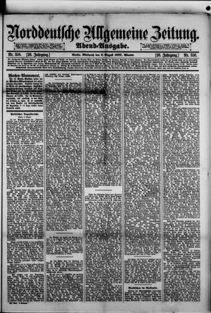 Norddeutsche allgemeine Zeitung vom 03.08.1887