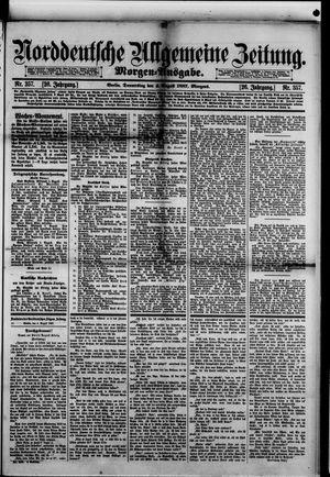 Norddeutsche allgemeine Zeitung vom 04.08.1887