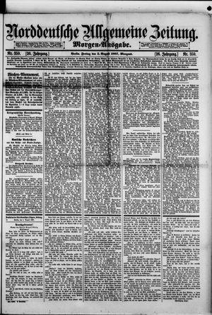Norddeutsche allgemeine Zeitung vom 05.08.1887
