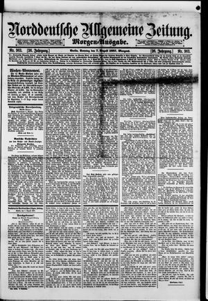 Norddeutsche allgemeine Zeitung vom 07.08.1887