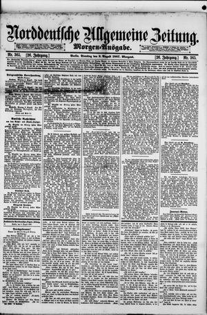 Norddeutsche allgemeine Zeitung vom 09.08.1887
