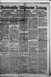 Norddeutsche allgemeine Zeitung (18.12.1887)