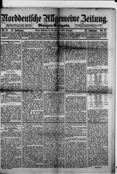 Norddeutsche allgemeine Zeitung (22.02.1888)