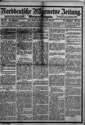 Norddeutsche allgemeine Zeitung (18.03.1888)