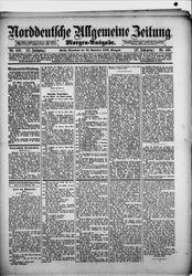Norddeutsche allgemeine Zeitung (22.09.1888)
