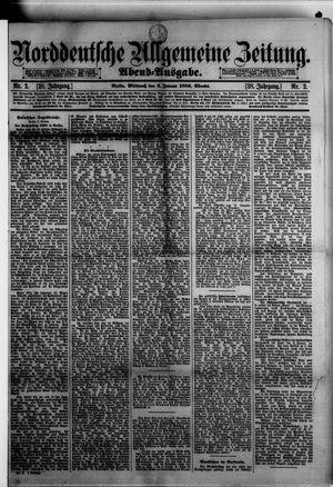 Norddeutsche allgemeine Zeitung vom 02.01.1889