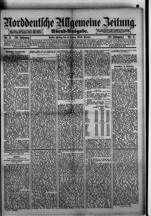 Norddeutsche allgemeine Zeitung on Jan 4, 1889
