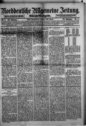 Norddeutsche allgemeine Zeitung on Jan 5, 1889