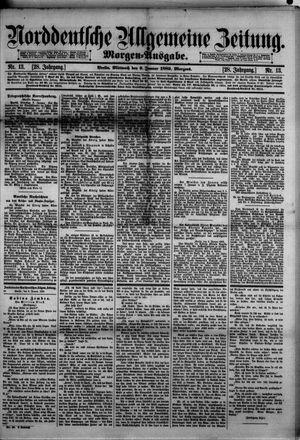 Norddeutsche allgemeine Zeitung vom 09.01.1889