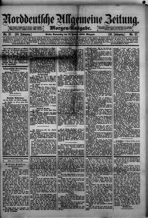 Norddeutsche allgemeine Zeitung vom 17.01.1889