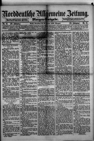 Norddeutsche allgemeine Zeitung vom 19.01.1889