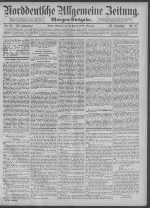 Norddeutsche allgemeine Zeitung vom 23.01.1889