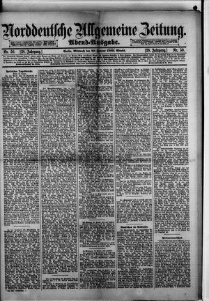 Norddeutsche allgemeine Zeitung on Jan 30, 1889