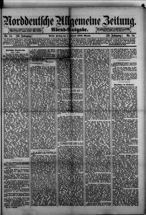 Norddeutsche allgemeine Zeitung vom 01.02.1889
