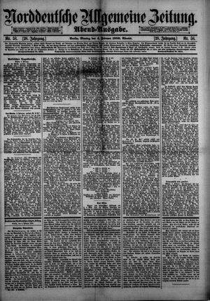 Norddeutsche allgemeine Zeitung vom 04.02.1889