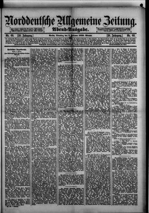 Norddeutsche allgemeine Zeitung vom 05.02.1889