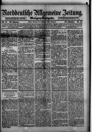 Norddeutsche allgemeine Zeitung vom 06.02.1889