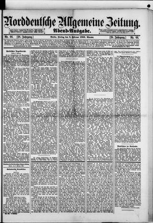 Norddeutsche allgemeine Zeitung vom 08.02.1889