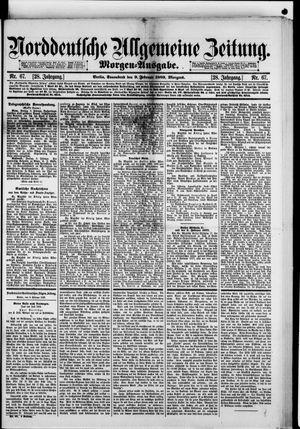Norddeutsche allgemeine Zeitung on Feb 9, 1889