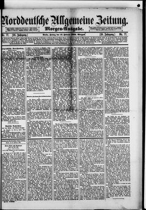 Norddeutsche allgemeine Zeitung on Feb 15, 1889