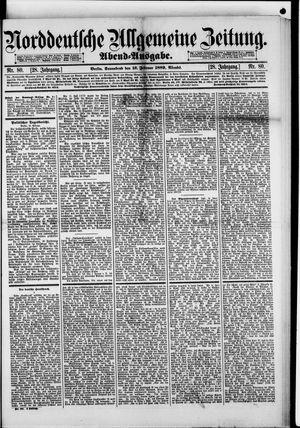 Norddeutsche allgemeine Zeitung vom 16.02.1889
